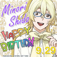 Minori Shido Happy Birthday