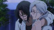 Washiho talking to Tsukasa drunk