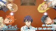 ACTORS -Songs Connection- Saku, Hinata, Mitsuki, Satsuma, and Ryo Episode 9 tweet on air December 1