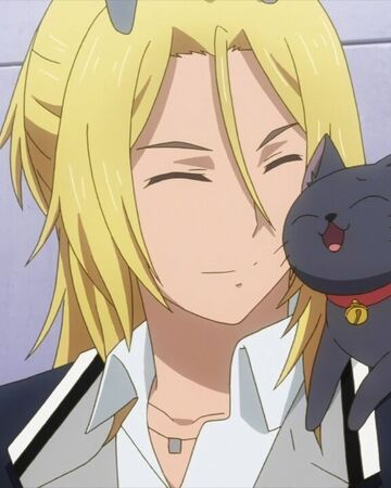 Ryo and the black cat nuzzling together.jpg