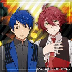 Hozumi and Itto in uniforms.jpg