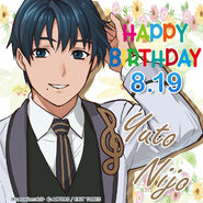 Happy Birthday Yuto Nijo