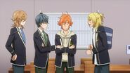 Ryo asking Satsuma how badly was the cat hurt