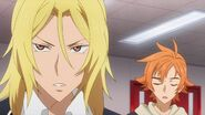 Hinata telling Ryo man, that scared me
