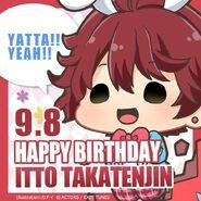 Happy Birthday Itto Takatenjin Chibi