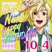 Shiro Nanao Happy Birthday Card