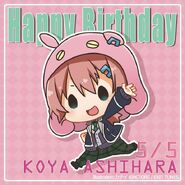 Happy Birthday Koya Ashihara Chibi