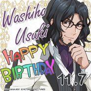 Washiho Usuki Happy Birthday Card