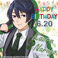 Happy Birthday Kaoru Narugo