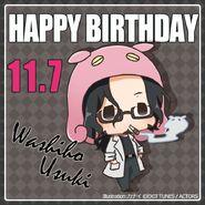 Happy Birthday Washiho Usuki Chibi