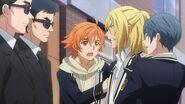 Hinata and Satsuma helping to resist Ryo