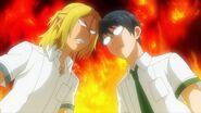 Ryo and Satsuma having an argument