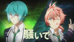 Koya and Seijun appearing during INAZUMA SHOCK.jpg