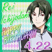 Rei Ichijodani Happy Birthday Card