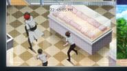 Chiguma, Kai, Mike, and Washiho running on Keishi's cameras