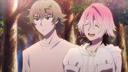 Uta telling Saku it's all because of him