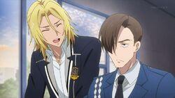 Ryo thanking Konishi for helping him out.jpg