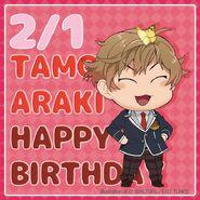 Happy Birthday Tamotsu Araki Chibi