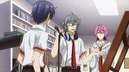 Sosuke telling Saku we won't get a good recording this way