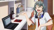 Sosuke telling Saku you really are amazing
