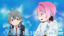 ACTORS -Songs Connection- Sosuke and Uta Episode 11 tweet on air December 15.jpg