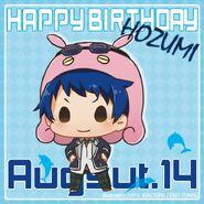 Happy Birthday Hozumi Chibi