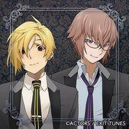 Shiro and Ryunosuke in uniforms