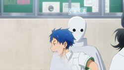 Hozumi running through Chiguma in the game.jpg
