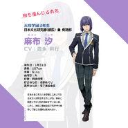 Ushio Azabu Profile