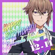 Happy Birthday Ryunosuke Hanakuma