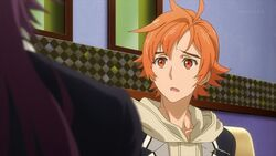 Hinata telling Kakeru I guess she might not know that the singing contest tomorrow got postponed.jpg