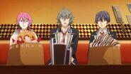 Sosuke telling Mitsuki and ReiI think it'd be hard to sing our songs if you're not Saku