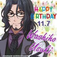 Washiho Usuki Happy Birthday