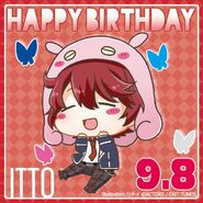 Happy Birthday Itto Chibi