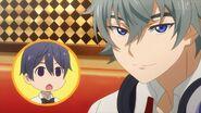 Saku questioning Sosuke about club points