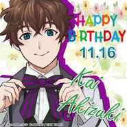 Kai Akizuki Happy Birthday 2
