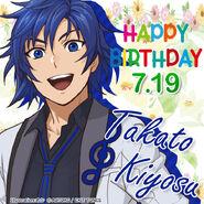 Happy Birthday Takato Kiyosu