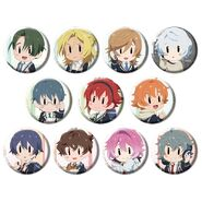 ACTORS -Songs Connection- Character Song Album Can Badges