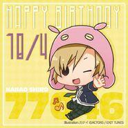 Happy Birthday Shiro Nanao Chibi