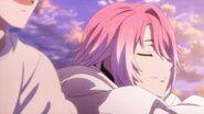 Uta listening to Sosuke singing nearby