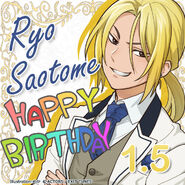 Ryo Saotome Happy Birthday