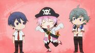 Uta as a pirate