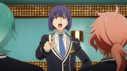 Ushio arguing with Koya
