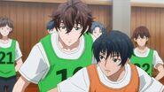 Kai and Yuto during a basketball game