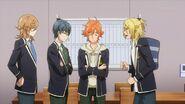 Ryo asking Hinata, Satsuma, and Mitsuki there's someone out their bullying the cats