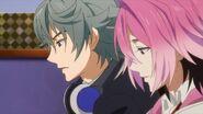 Sosuke telling Saku and the others I'm sure he's upset