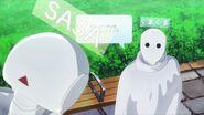 Chiguma asking Sasa how she is floating