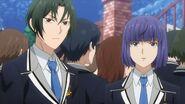 Rei and Ushio witnessing Mitsuki running