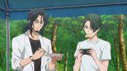 Chiguma and Washiho trying Saku and Kai's curry