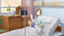 Nozomi raising her hand for Uta.jpg